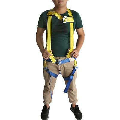 Full Body Fall Protection Safety Harness for Rock Climbing Carving Rappel