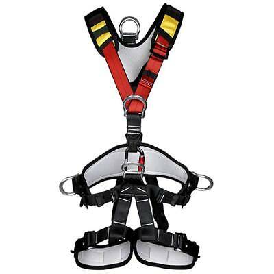 Full Body Safety Harness Sit Bust Belt for Outdoor Rock Climbing Rappelling