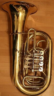 4/4 CC Tuba DIMAVERY lackiert, sehr guter Zustand lacquered, very good condition