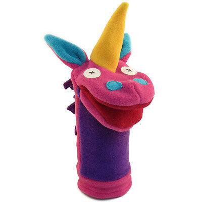 Cate & Levi Handmade Softy Unicorn Hand Puppet - Polar Fleece (Made in Canada)