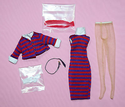 """Tonner 10"""" Tiny Kitty Stripes Suit Me Outfit Fits Simone Rouge"""
