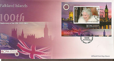 Falkland Islands First Day Cover CPA