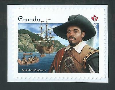 """Canada 2017 Black History; SINGLE """"P"""" from Booklet; M NH"""