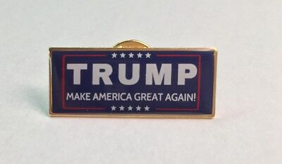 Trump Make America Great Again MADE IN USA President 2017 Patriotic Lapel Pin