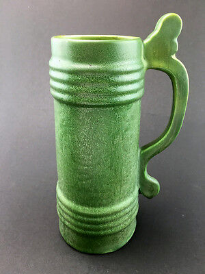 HAMPSHIRE POTTERY Large Embossed Design Tankard Stein c1905-1914