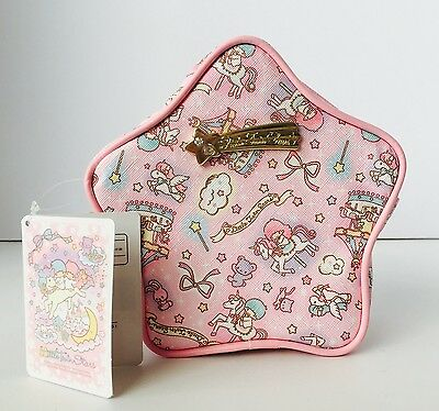 Rare! Little Twin Stars Pink Makeup Pouch Japan Imported