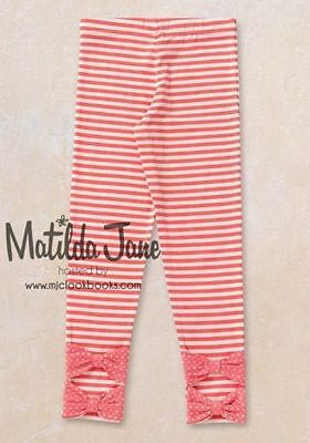 Matilda Jane Size Zola Ruffle Leggings Christmas New IN BAG 12 Friends Forever