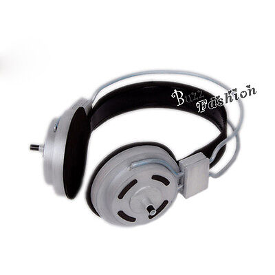 Super Sonico Anime Cosplay Silver Earphone Headphone Hair Accessories