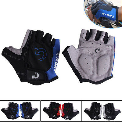 Cycling Gloves Bicycle Bike Riding Motorcycle Sports Gel Half Finger Gloves S-XL
