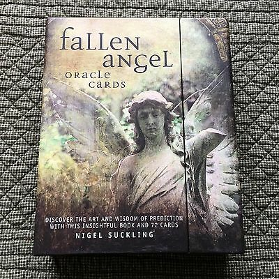 Fallen Angels Oracle Cards And Booklet By Nigel Suckling - Gently Used