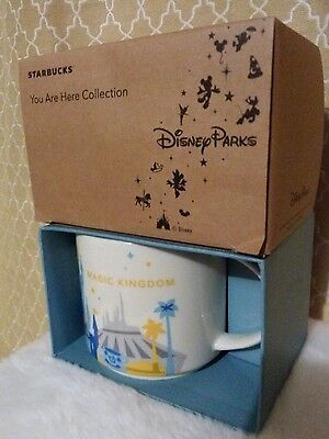 Starbucks Disney Magic Kingdom Mug Cup You Are Here Collection New