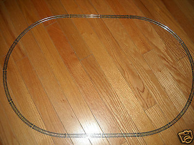 """Model Power """"n"""" Scale Set Of Oval Train Track About 30 X 20 Inches (New)"""