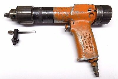 "Cleco Dresser 1/2"" Variable Speed Pneumatic Drill Aircraft Tool"