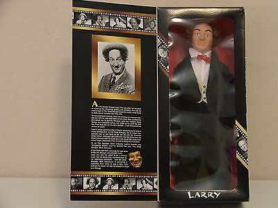 "Hasbro The THREE STOOGES Collector's Edition This is the Larry Doll 14"" Tall"