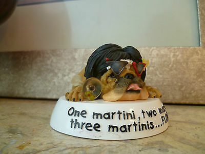 Zelda Wisdom 2004 figurine - Three Martinis #4857 - RETIRED