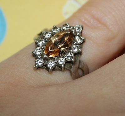 Amazing Royal Ring Silver 925 USSR Antique