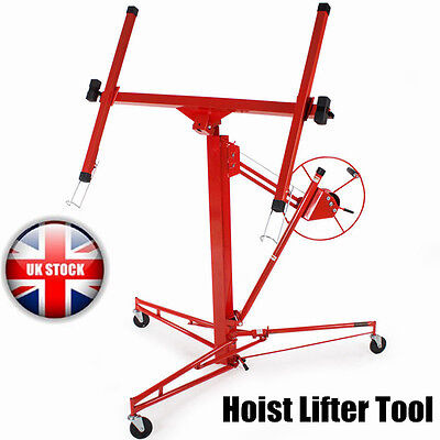 New 11 Ft Lift / Lifter Tool Caster Drywall Hoist Plaster Board Panel Sheet UK