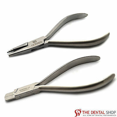 Arch Forming Bending Cutter Pliers & Tweed Loop Forming Wire Dental Tools SS New