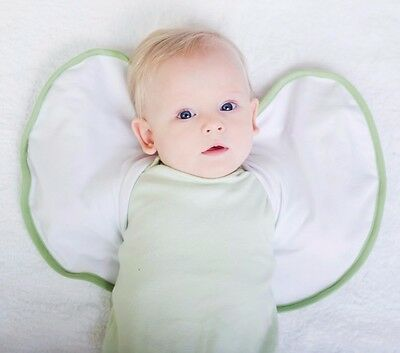 SLEEPY WINGS - 2 x Samples - Large size - White/Green - NEW