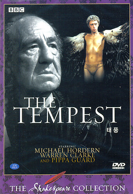 [DVD] BBC THE TEMPEST - The Shakespeare Collection