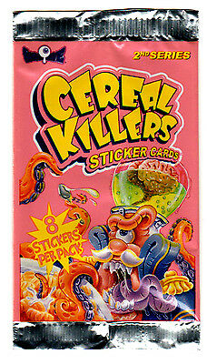 2012 Cereal Killers 2nd series -WRAPPER- Only. Wacky Packages