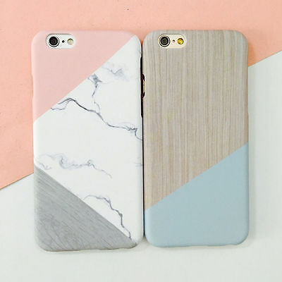 Ultra Fina Granito mármol Hard PC Case Carcasa Funda para iPhone 7 Plus 6s 6