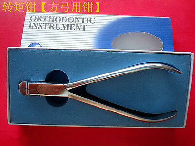 1Pc Dental Rectangular Wire Arch Bending Pliers dentists Orthodontic Instruments