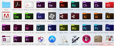 Adobe 3 program bundle Mac