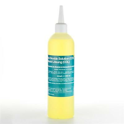 250 ml Chlorine Dioxide Solution (CDS) / Chlordioxid Lösung (CDL) < 0,3 %