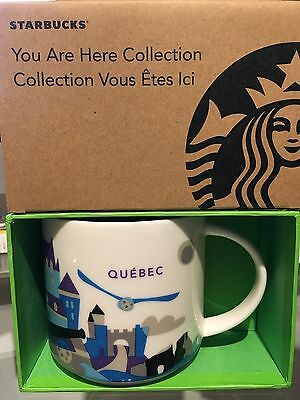 Starbucks * QUÉBEC * City Mug YOU ARE HERE SERIE XL Tasse NEU