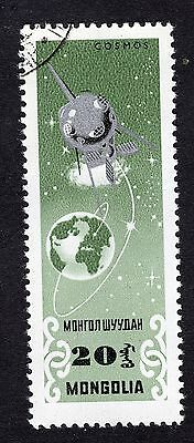 1964 Mongolia 20m Space Research Cosmos SG349 FINE USED R28462