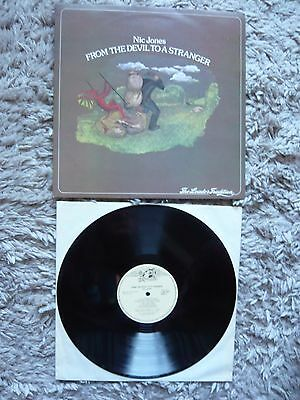 Nic Jones From The Devil To A Stranger 1978 UK Transatlantic Folk Vinyl LP