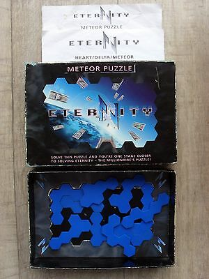 Eternity Meteor 10 Piece Difficult Brain-Teaser Puzzle With Solution
