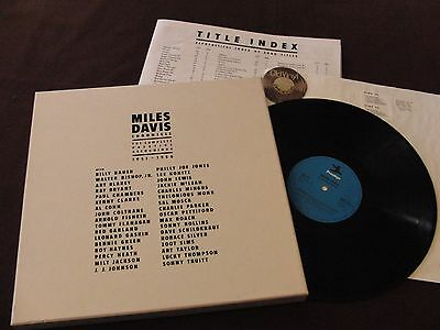 12 LP Miles Davis ‎Chronicle: The Complete Recordings 1951–1956 +Insert | M-