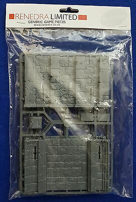 Warhammer style castle tower mid section.