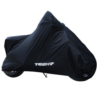Tech7 Shadow Winter Waterproof Rain Cover Motorcycle Scooter Black Large L