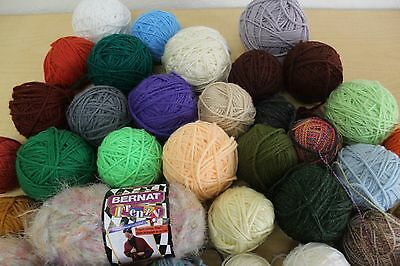 Mixed Crochet Thread Yarn Chenille Other Types Craft Knitting Lot