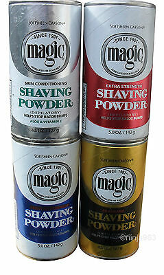 Magic Shaving Powder 127G *full Range*