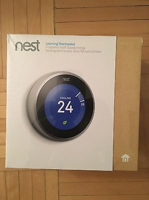 Nest Thermostat 3rd Generation NEW!!! **FREE SHIPPING**