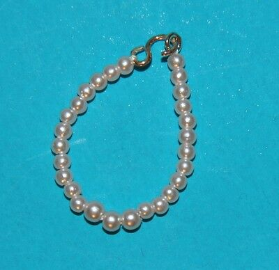 Vintage Barbie Reproduction Very Light PINK Graduated Pearl Necklace