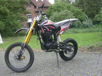 DIRT BIKE 250 ccm Vollcross CROSS Pit 250cc 200 125 Enduro Pit pocketbike NEU