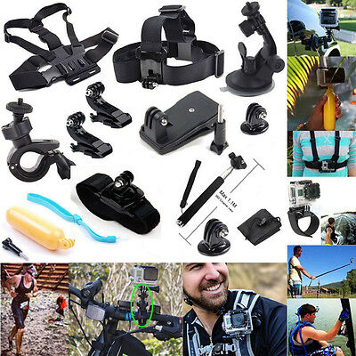 13 in 1 Camera Accessories Kit for Gopro Hero 4 3+ 3 2 Session Action Camera