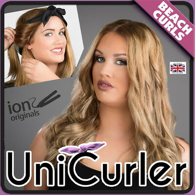 Unicurler - Universal Hair Bandana - heat free curls no need for curling rollers