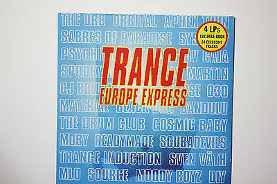 Various - Trance Europe Express Vol 1. 24-Tracks 4 LPs Vinyl 1993