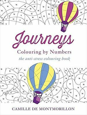 NEW - Journeys: Colouring by Numbers (Colouring Books) (Paperback) 1473625971
