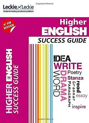 NEW - CfE Higher English Success Guide (Success Guide) (Paperback) 0007554400