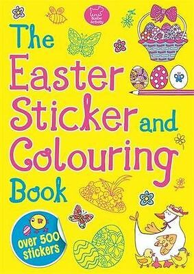 NEW - The Easter Sticker and Colouring Book (Sticker Activity) (PB) 1780552408