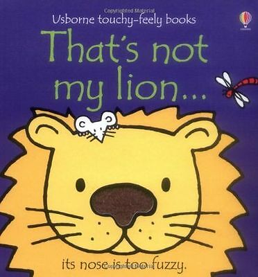 **NEW** - That's Not My Lion (Board book) 1409509931