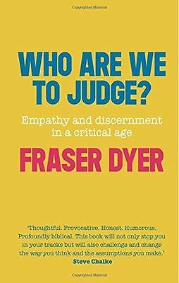 **NEW** - Who Are We To Judge? (Paperback) 0281072485