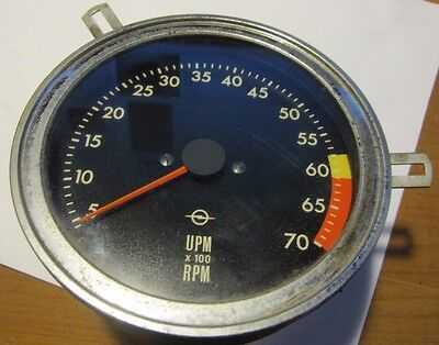 Opel Gt Tachometer Tach Vdo  1969-73 Good Used,   Usa  Shipping Is Free